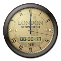 London Clock Stopwatch