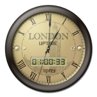 London Clock Uptime
